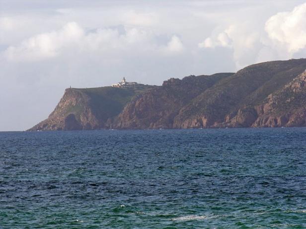 Cabo da Roca from the sea