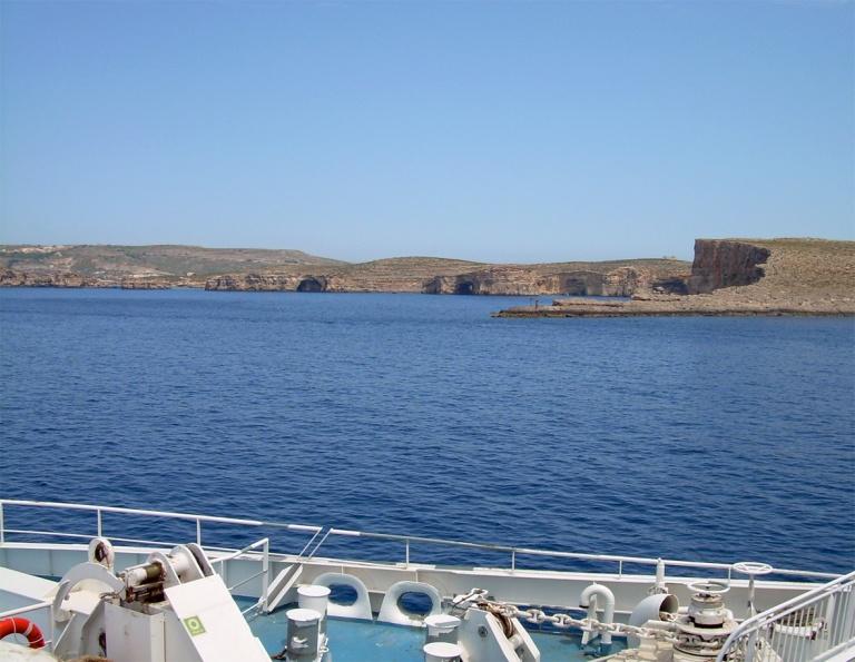 Ferry ride to Gozo
