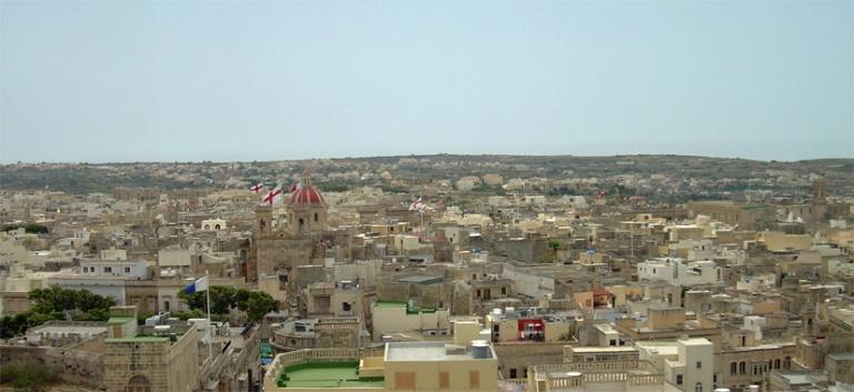 Gozo citadella maisemat