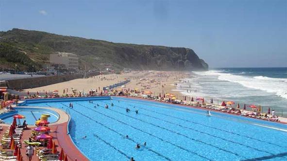 Hotel pool and the PG beach.jpg