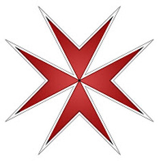 maltese cross red