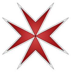 maltese cross red