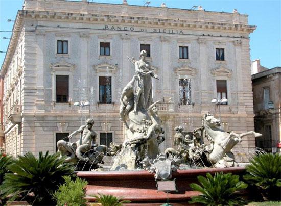 piazza archimede - ortigia