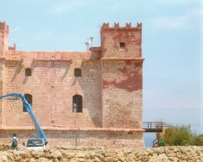 Red Tower korjataan
