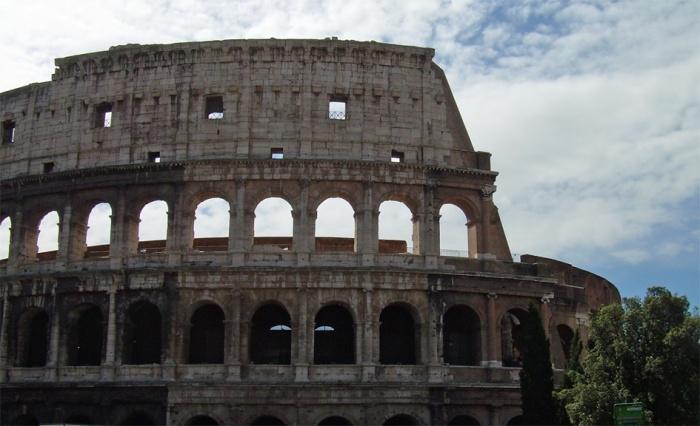 Colosseum kadulta päin