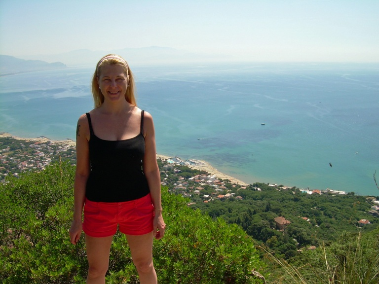 JH at mount circeo