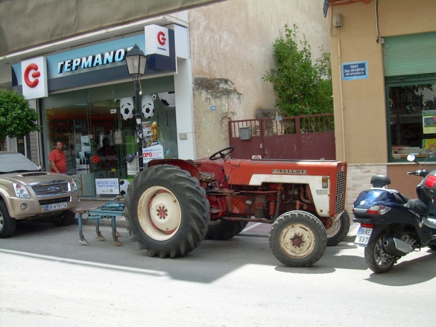 Megara city traktori