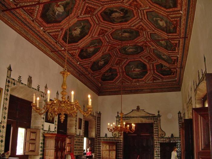 Nacional palace Sintra_the roof