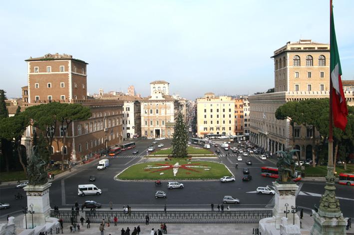 Piazza Venezia Rooma