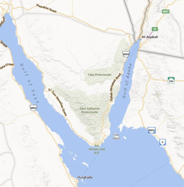 Gulf of Aqaba_Gulf of Suez