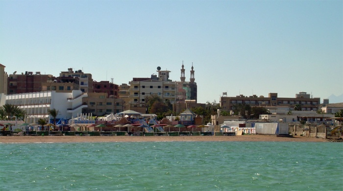 Hurghada from the sea