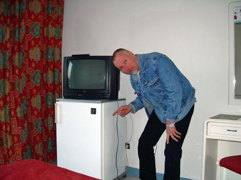 Ile vanhassa huoneessa_TV