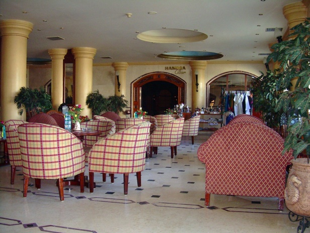Shadwan Hotel bar before opening