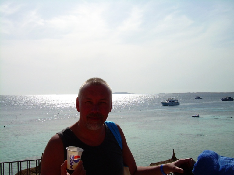 Sharm El Sheikh_Loma maistuu_Aurinko on kristallin kirkas