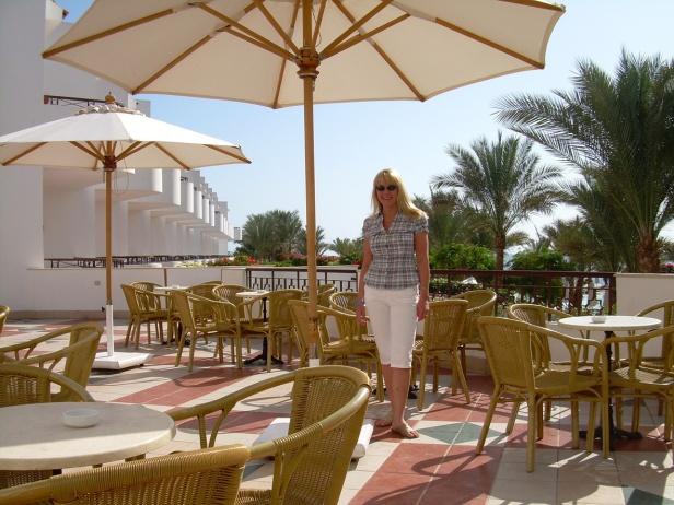 Sharm El Sheikh_hotellin terassilla