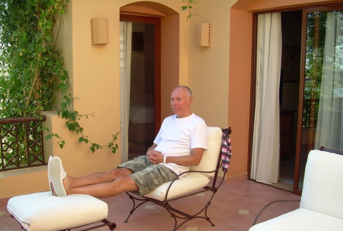 Coraya Bay Egypt_best room terrace ever