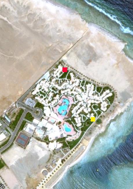 Egypti: Coraya Bay: Saapuminen (4/6)
