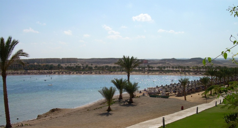 Coraya Bay Egypt_Our beach_Sunny day