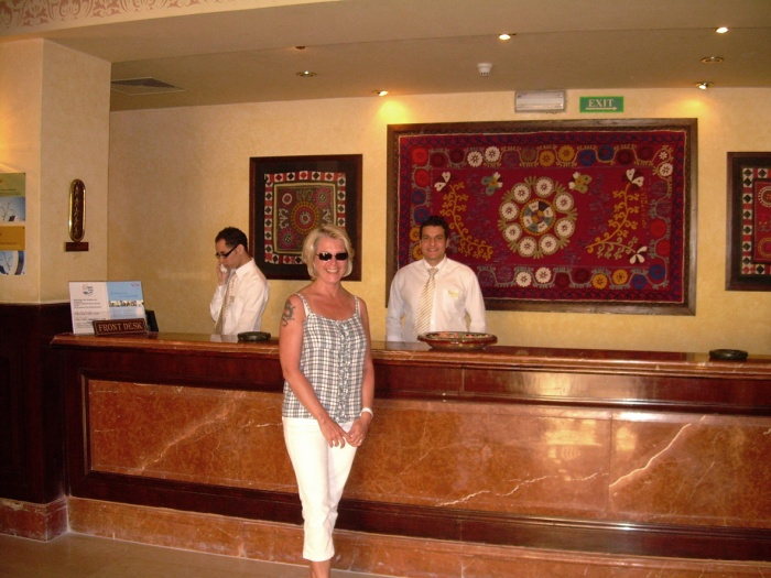 Coraya Bay Egypt_super friendly hotel personnel