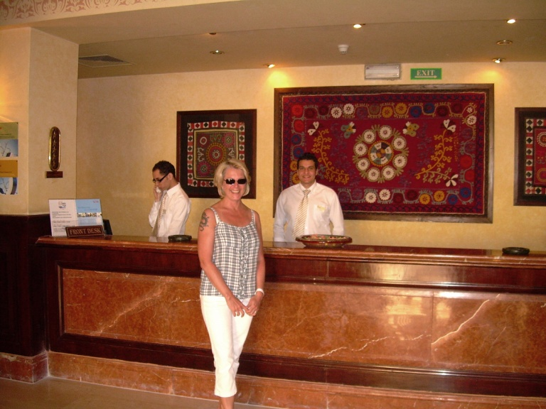 Coraya Bay Egypt_super friendly hotel personnel