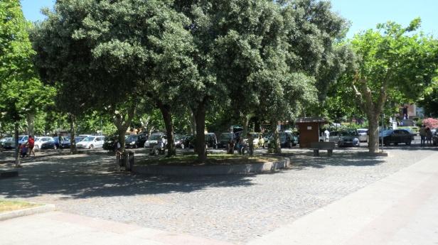 Trevignano city_park by the lake