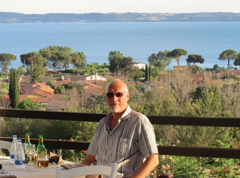 Trevignano restaurant view