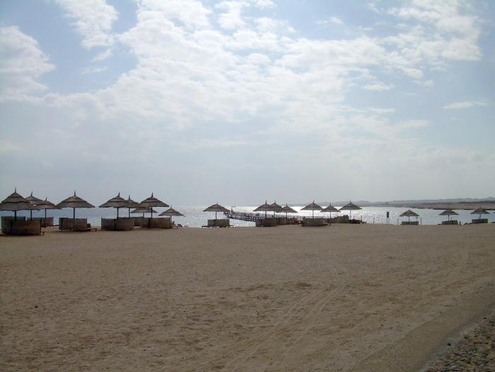 Evening starts at Port Ghalib beach