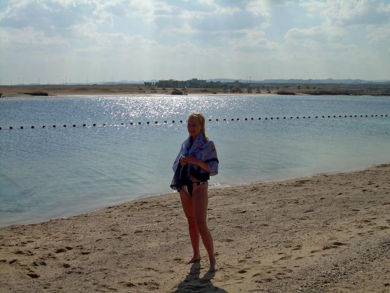 JH at ICPG beach