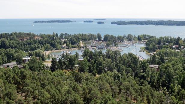 View from Haikaranpesä Espoo