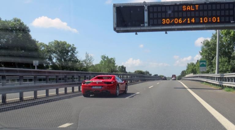 Ferrari goes Pisa