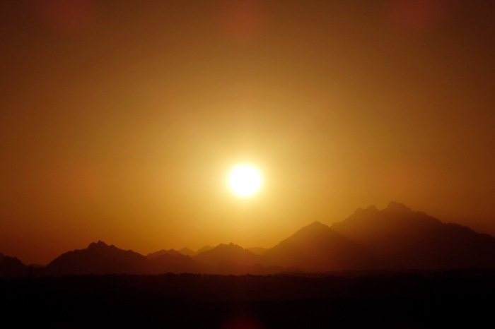 Sunset in Egypt 7
